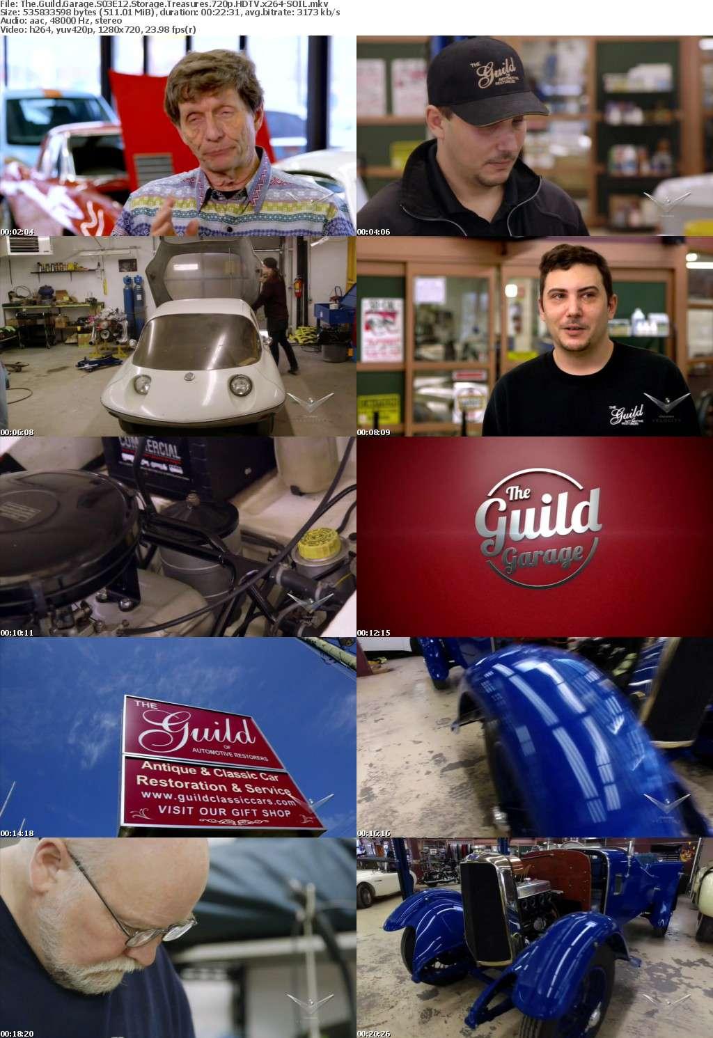 The Guild Garage S03E12 Storage Treasures 720p HDTV x264-SOIL
