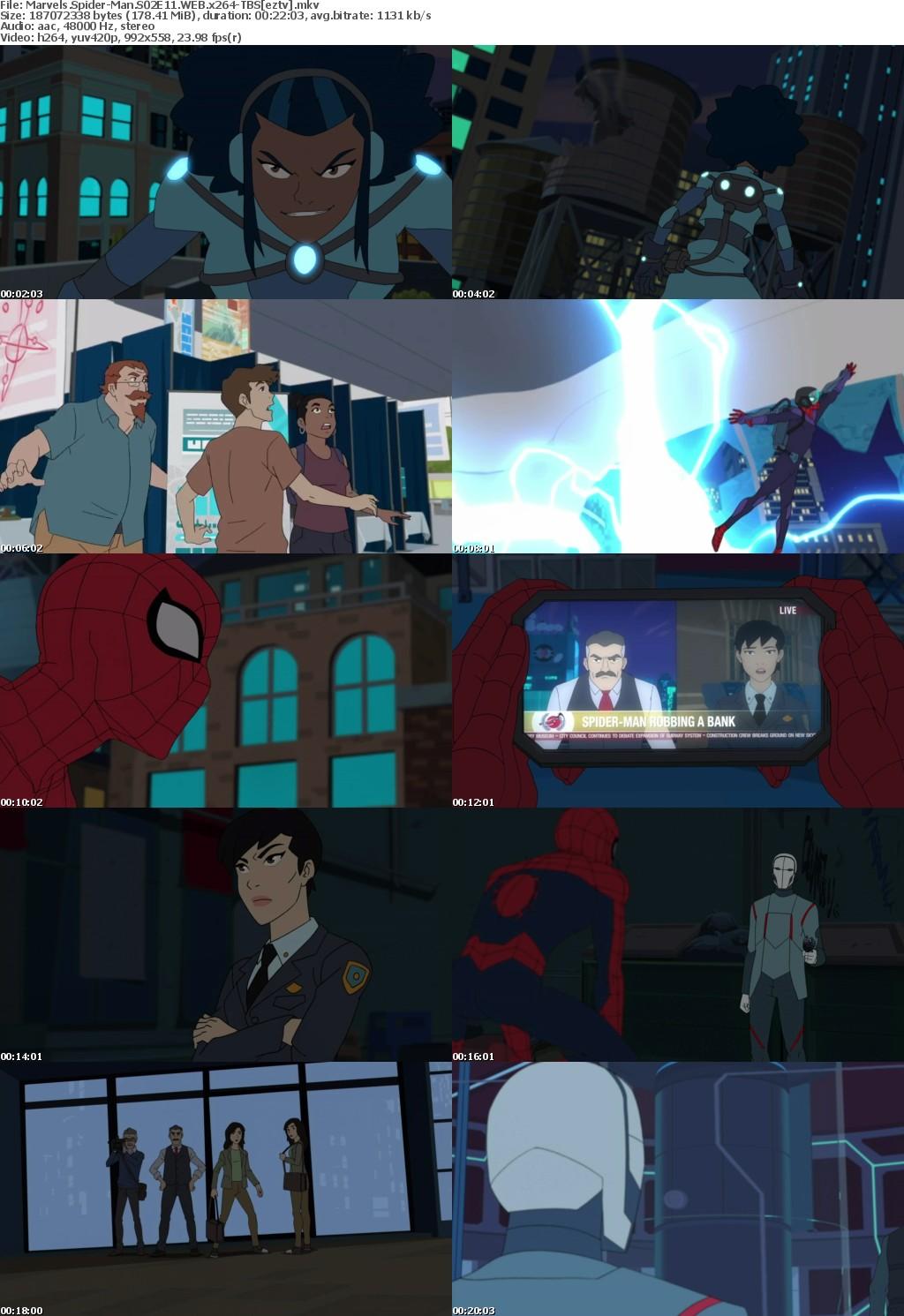 Marvels Spider-Man S02E11 WEB x264-TBS