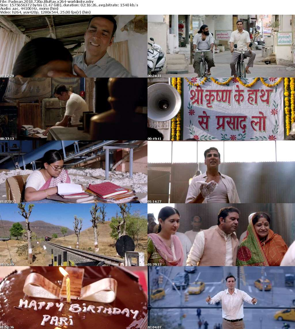 Padman 2018 720p BluRay x264-worldmkv
