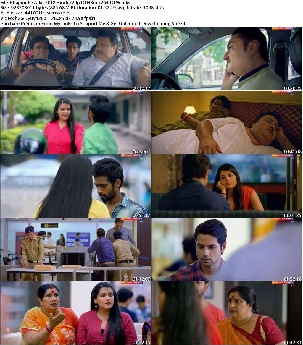 Khajoor Pe Atke (2018) Hindi 720p DTHRip x264-DLW
