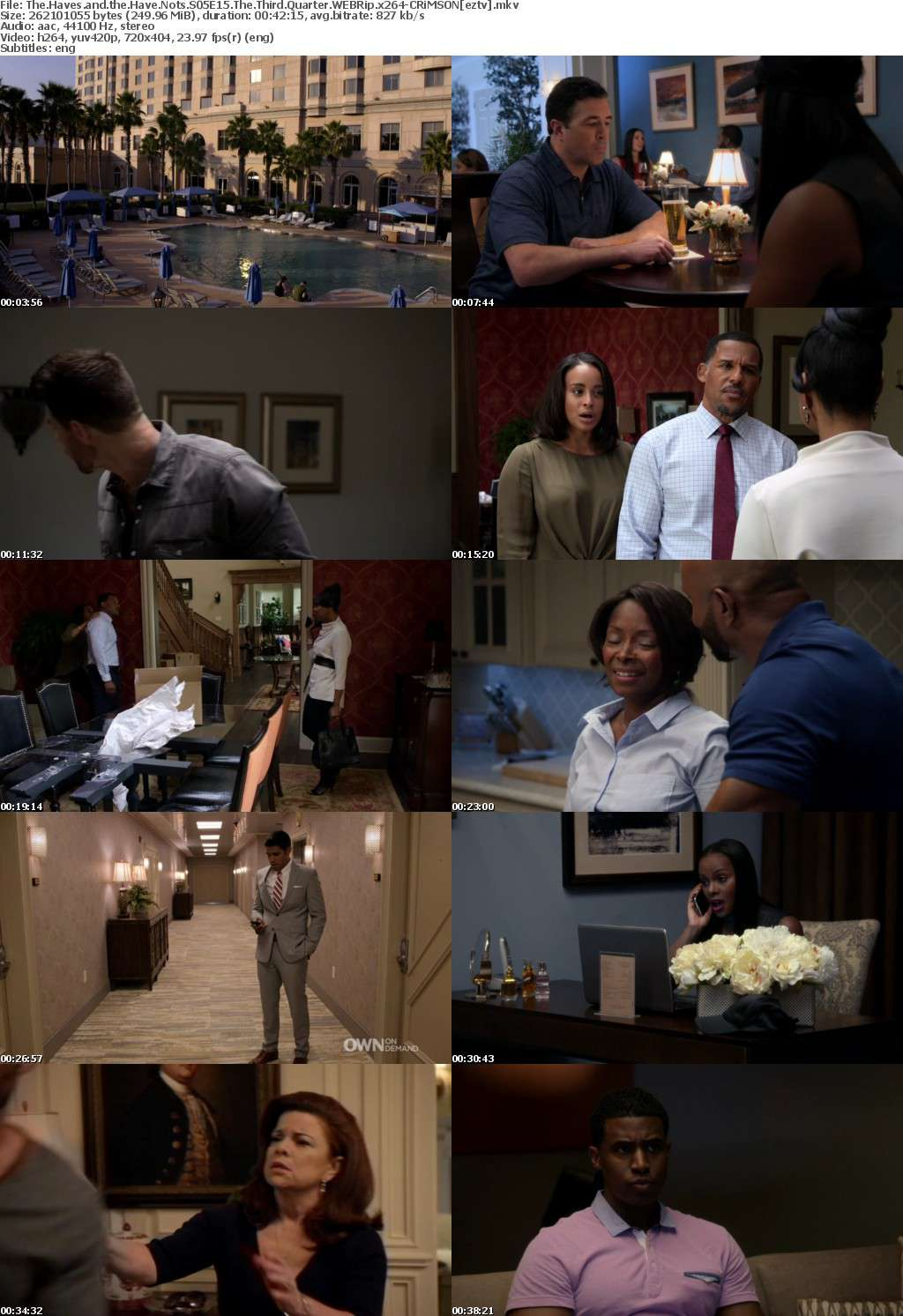 The Haves and the Have Nots S05E15 The Third Quarter WEBRip x264-CRiMSON