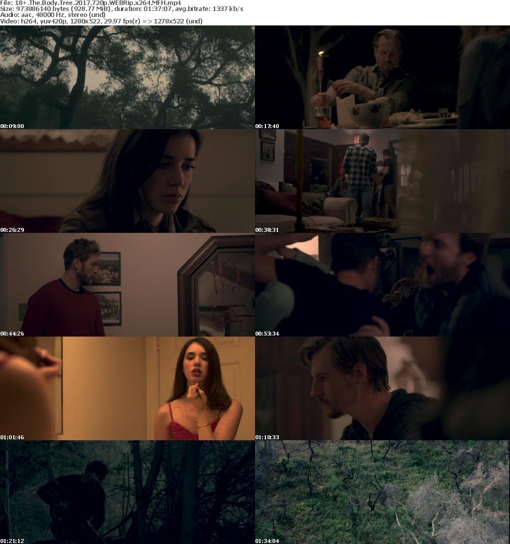 18+ The Body Tree 2017 720p WEBRip x264 MFH