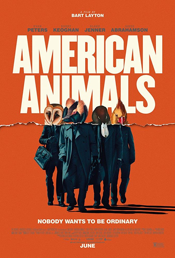 American Animals 2018 720p BRRip X264 AC3-EVO