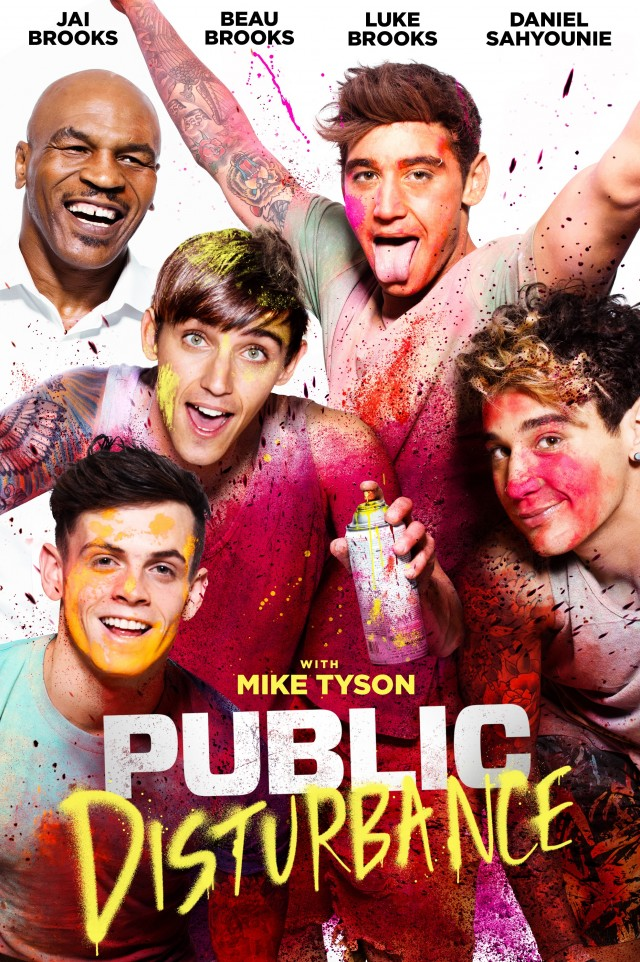 Public Disturbance 2018 HDRip XviD AC3 MFH