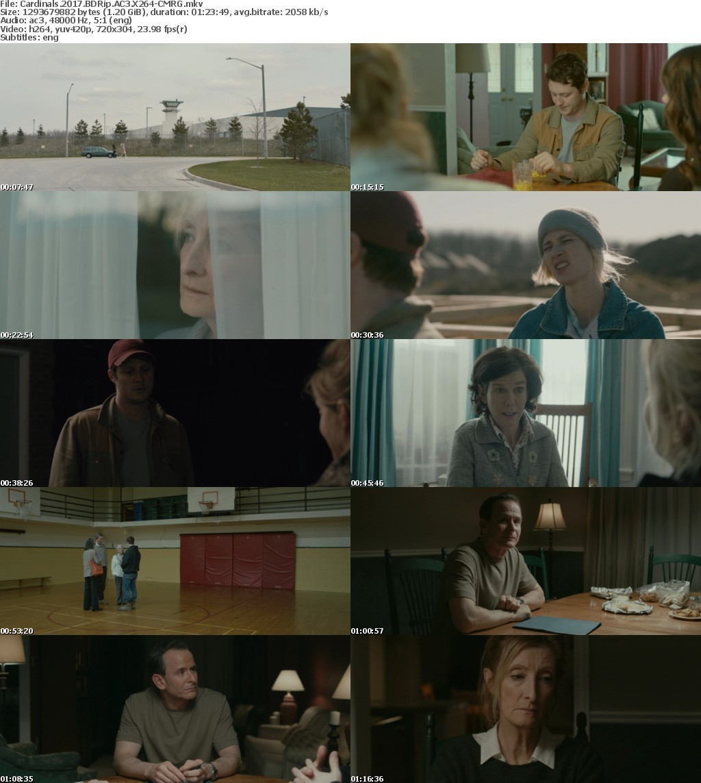 Cardinals (2017) BDRip AC3 X264-CMRG