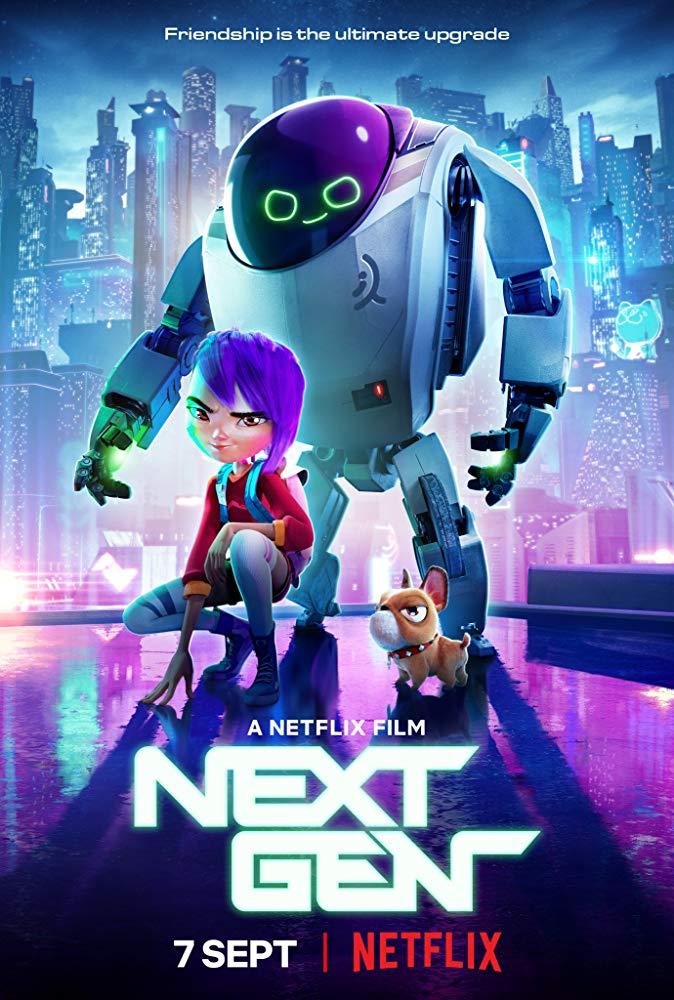Next Gen (2018) NF 720p WEB-DL x264 ESub MW