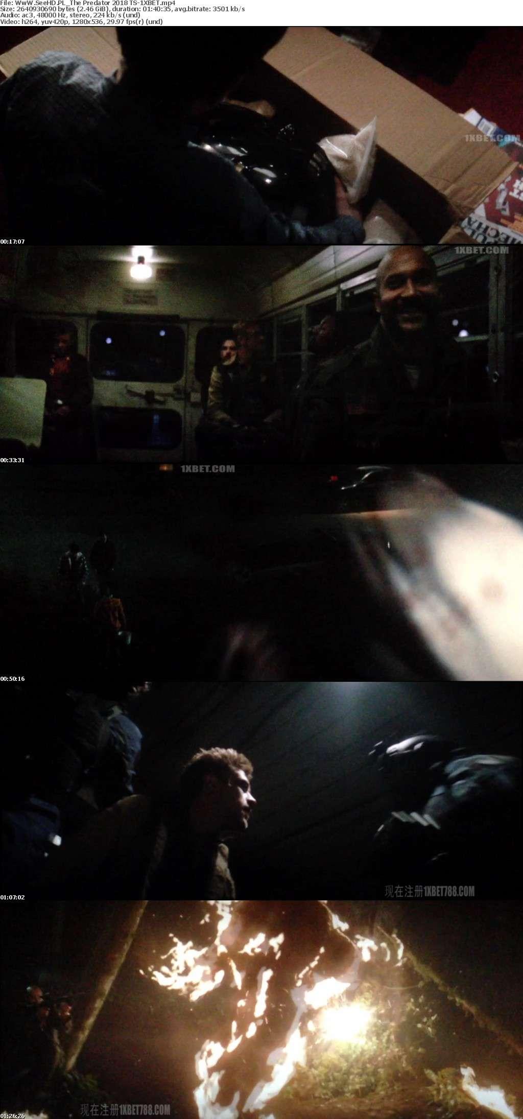 The Predator (2018) TS-1XBET-ws