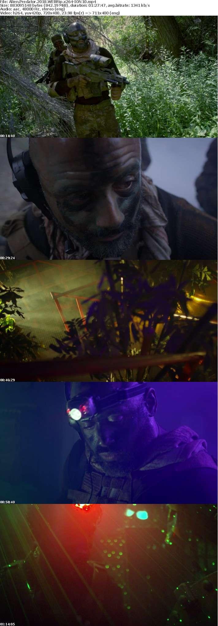 Alien Predator 2018 WEBRip x264-ION10