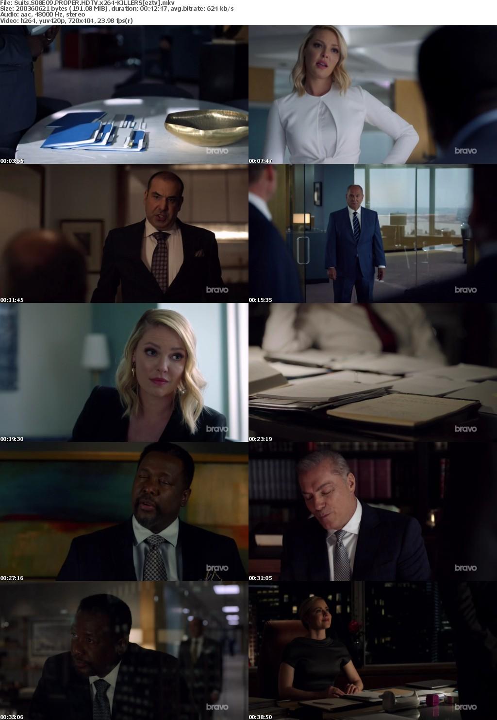 Suits S08E09 PROPER HDTV x264-KILLERS