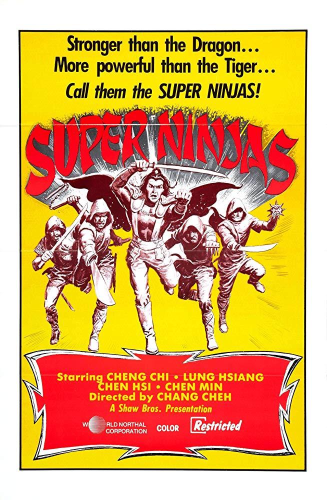 Five Element Ninjas 1982 Chinese 720p BluRay x264-CLASSiC