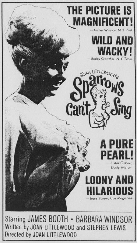 Sparrows Cant Sing 1963 BRRip XviD MP3-XVID