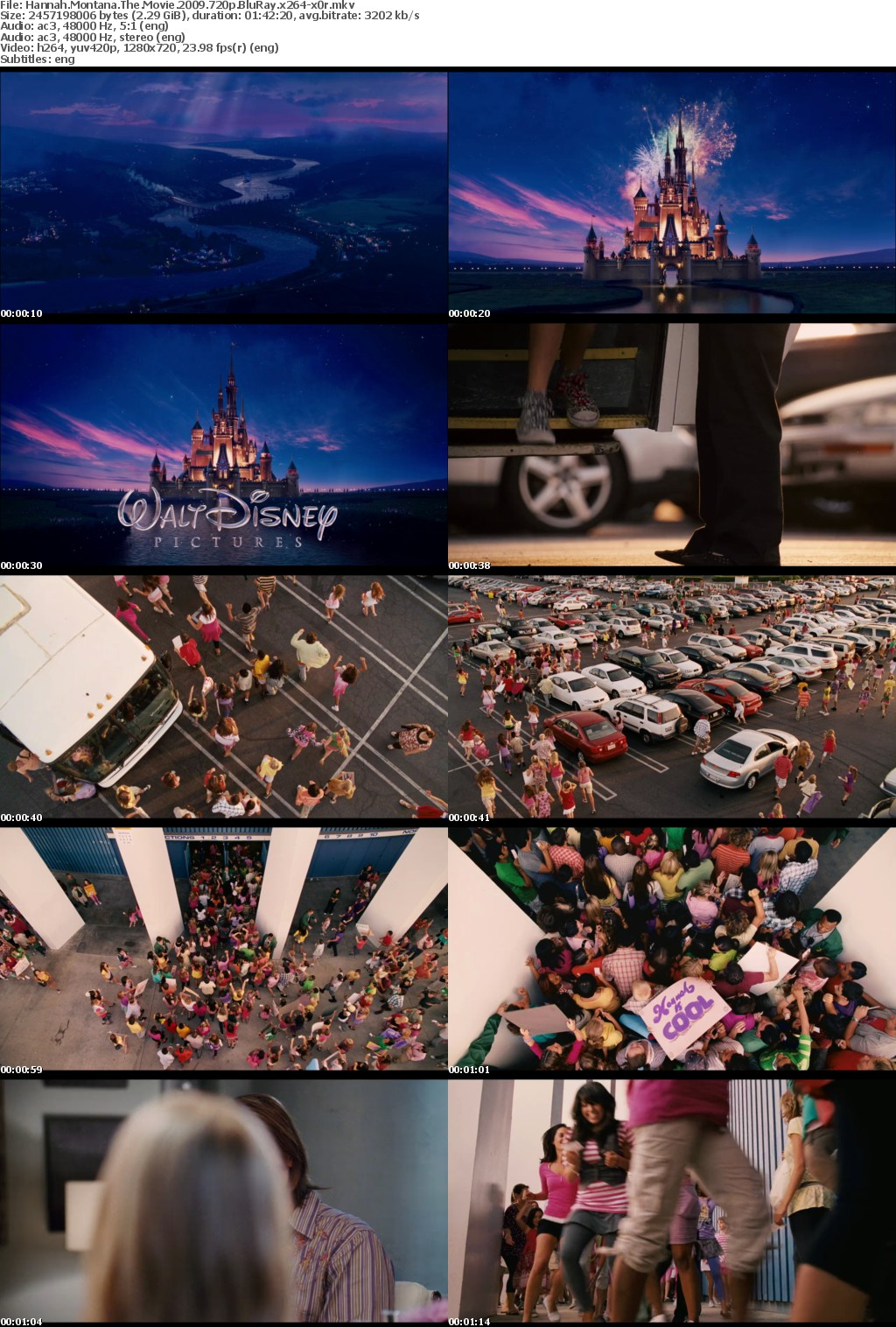 Hannah Montana The Movie (2009) 720p BluRay x264-x0r
