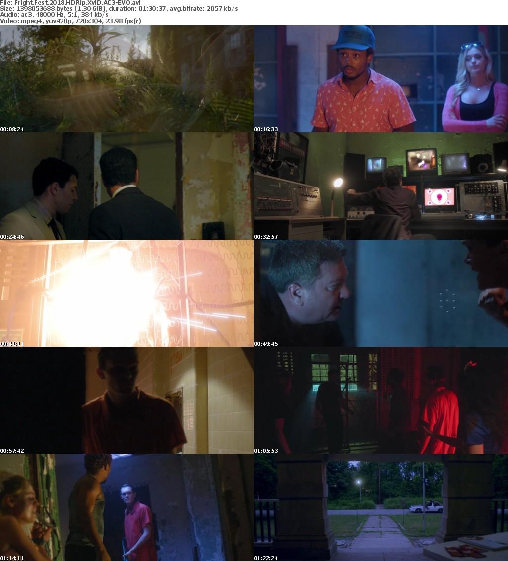 Fright Fest (2018) HDRip XviD AC3-EVO