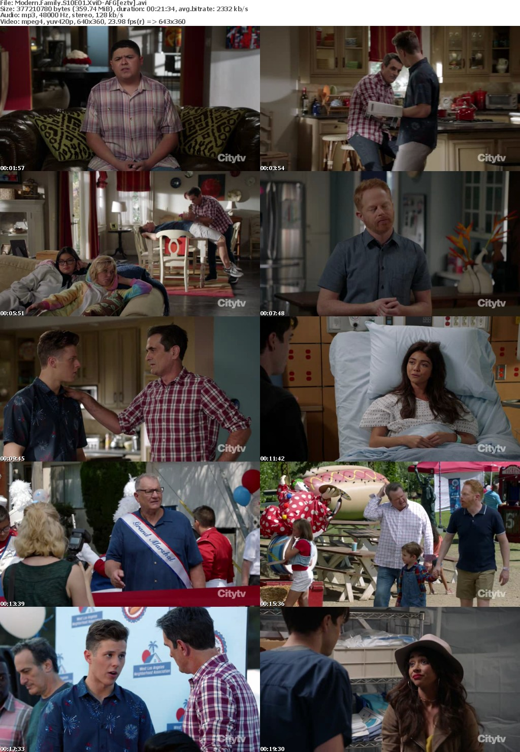 Modern Family S10E01 XviD-AFG