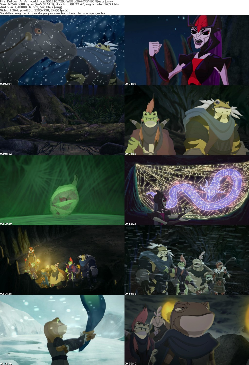 Kulipari An Army of Frogs S01E10 720p WEB x264-CRiMSON