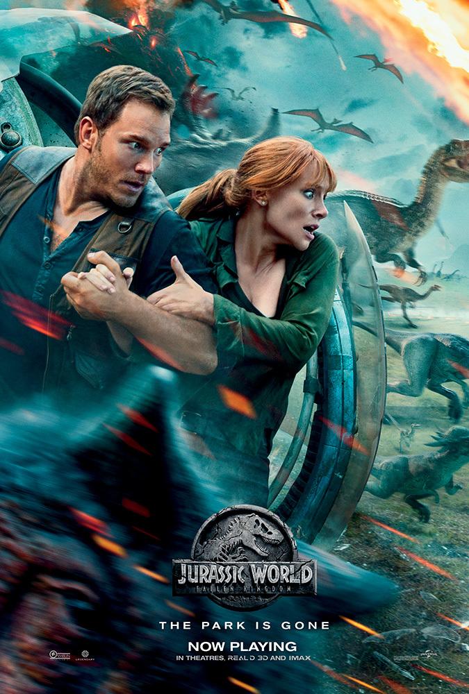 Jurassic World: Fallen Kingdom 2018 BluRay 720p Dual Audio Hindi 5 1 - Eng x264 ESub - mkvCinemas