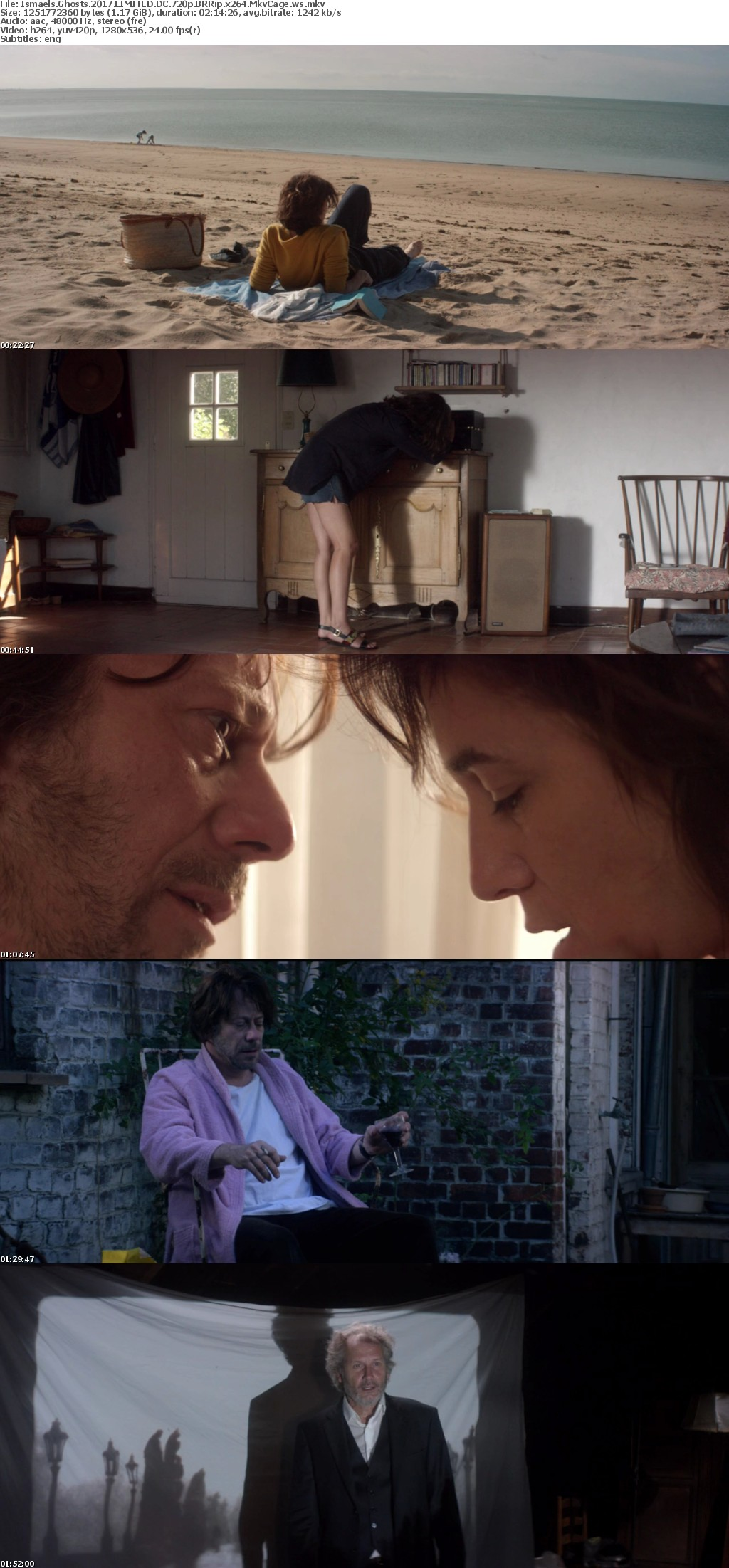 Ismaels Ghosts 2017 LIMITED DC 720p BRRip x264 MkvCage