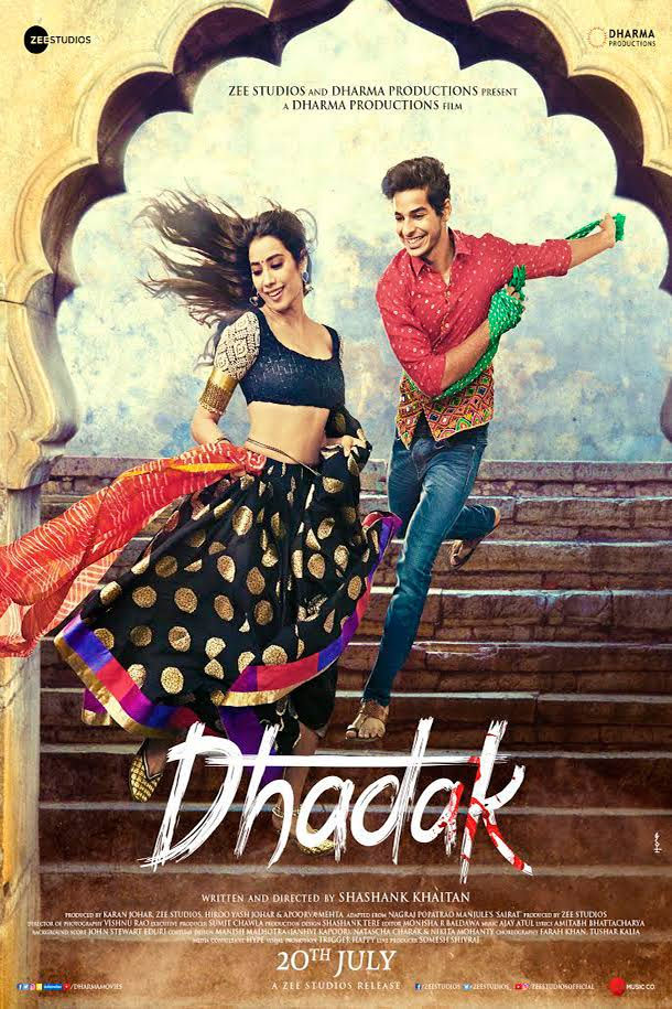 Dhadak 2018 Hindi 720p WEBRip x264 ESub [MW]
