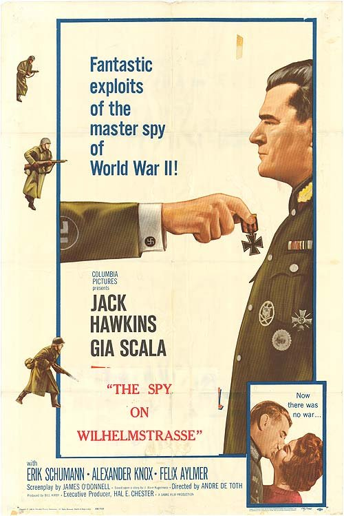 The Two Headed Spy 1958 - UK Jack Hawkins WWII thriller