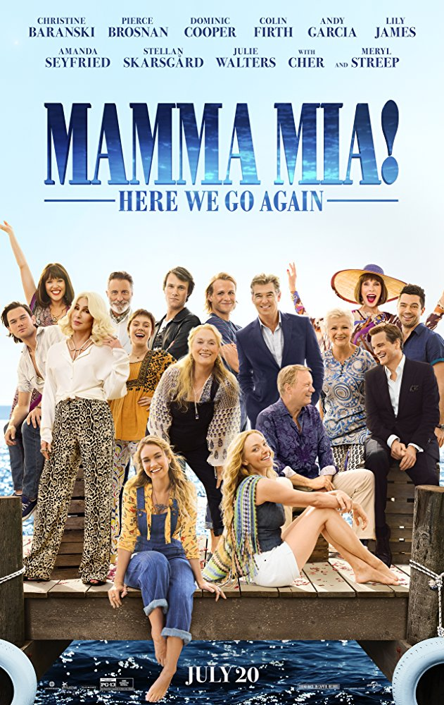 Mamma Mia! Here We Go Again (2018) [WEBRip] [720p] YIFY