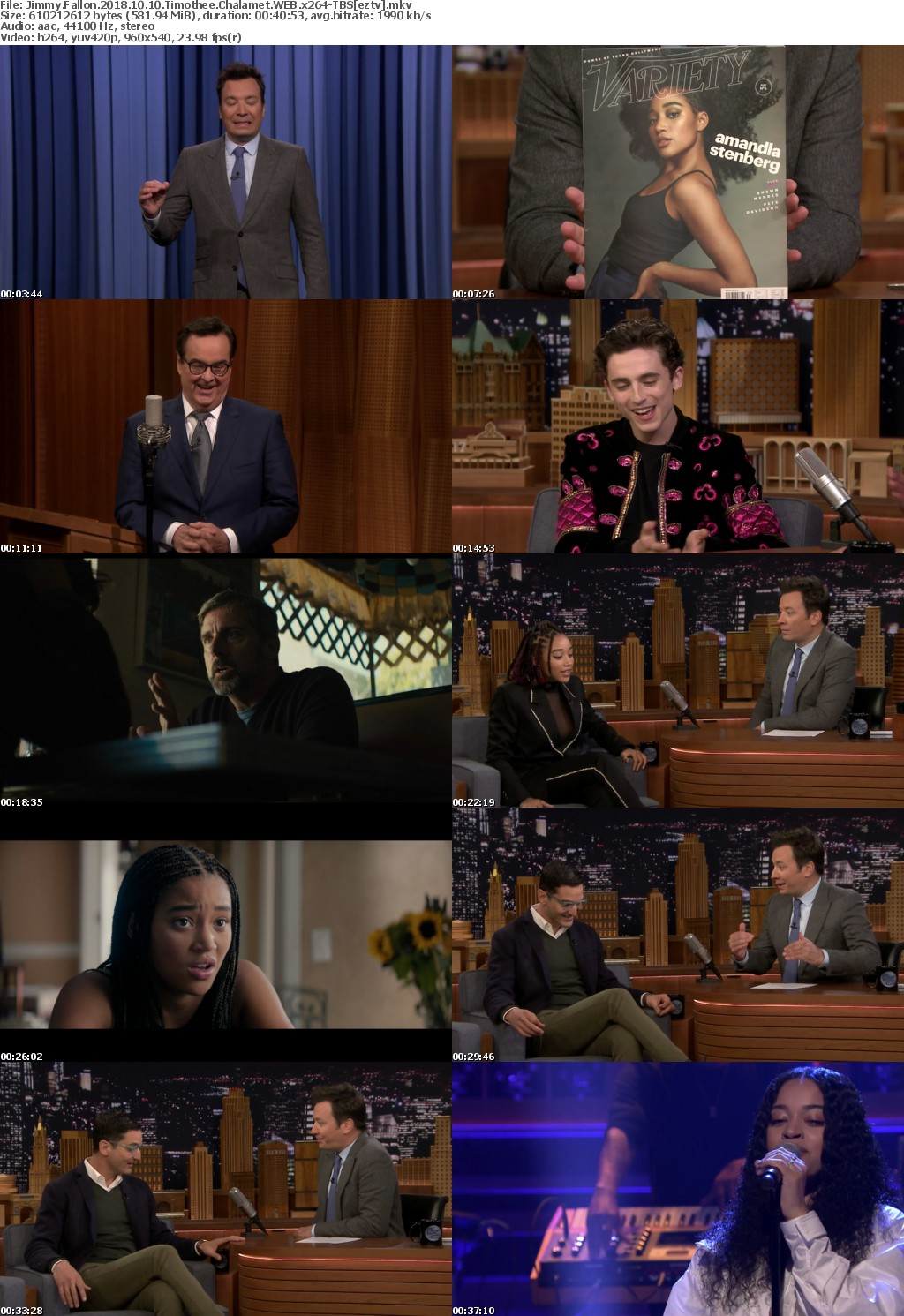 Jimmy Fallon 2018 10 10 Timothee Chalamet WEB x264-TBS
