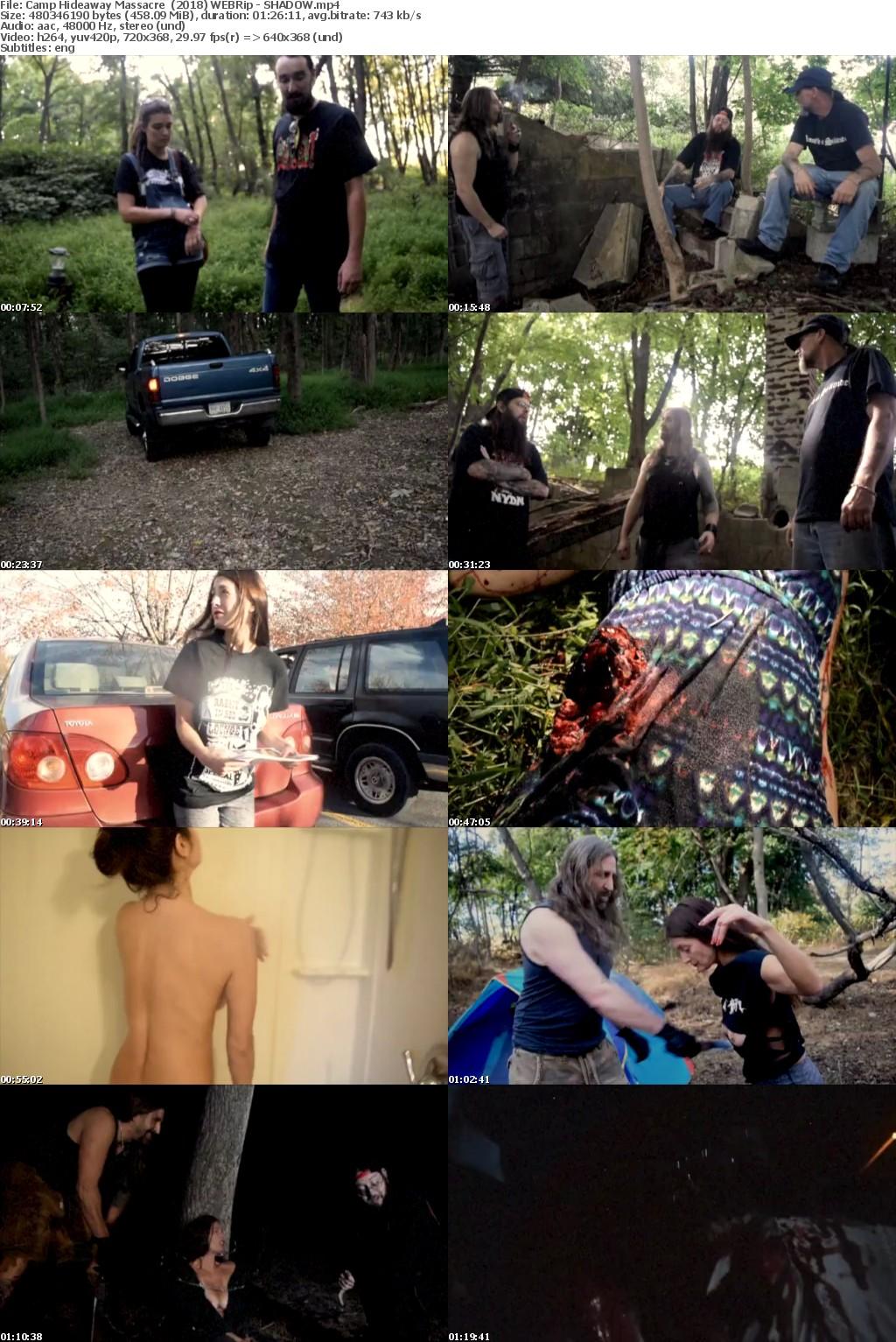 Camp Hideaway Massacre (2018) WEBRip - SHADOW