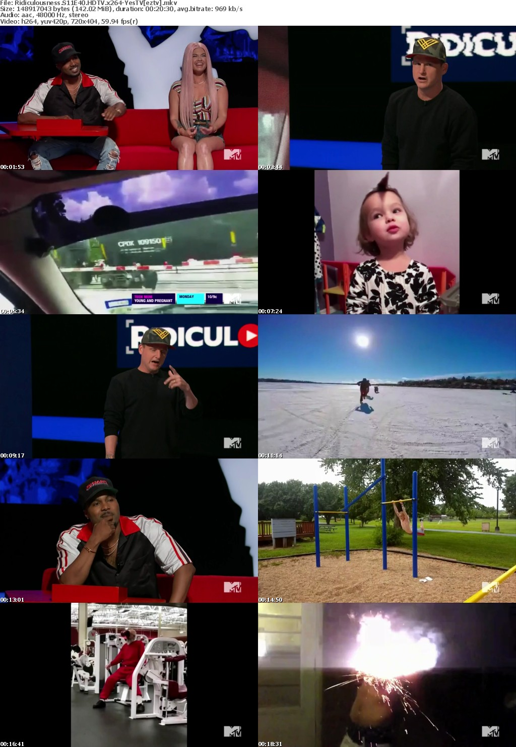 Ridiculousness S11E40 HDTV x264-YesTV