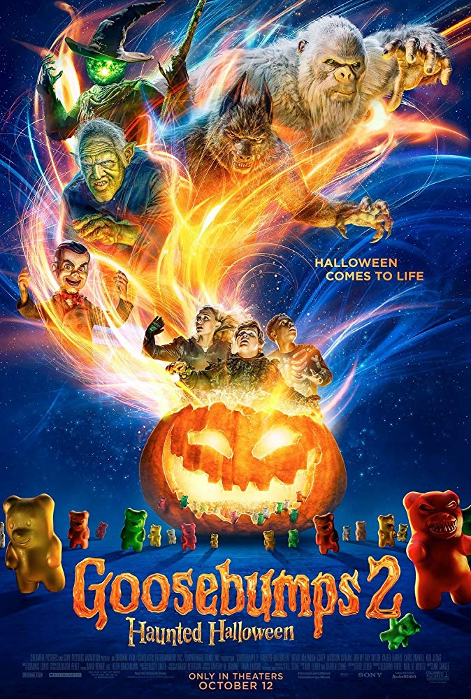 Goosebumps 2 Haunted Halloween 2018 HDTS XViD AC3-ETRG