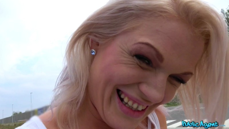 Public Agent  - Angella Luxxx - Sexy blondes public car bonnet fuck 2018-10-16 - 1080p Free Download From pornparadise.org
