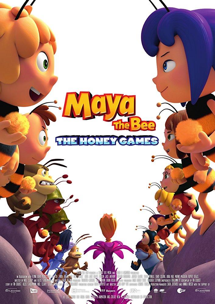 Maya the Bee The Honey Games 2018 DANISH 1080p BluRay X264-iNVANDRAREN