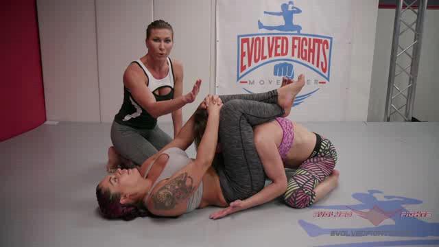 EvolvedFights 18 10 22 Ariel X And Cheyenne Jewel XXX