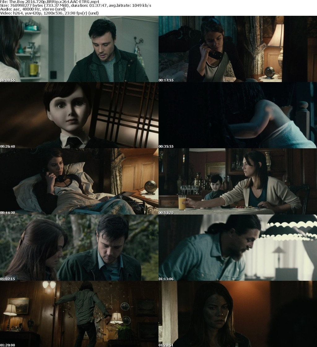 The Boy (2016) 720p BRRip x264 AAC-ETRG