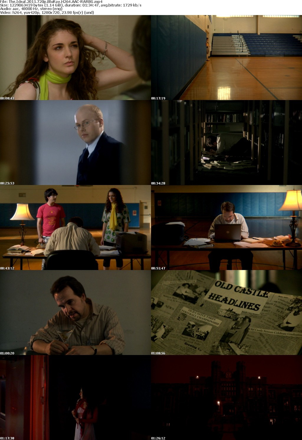 The Ideal (2011) 720p BluRay H264 AAC-RARBG