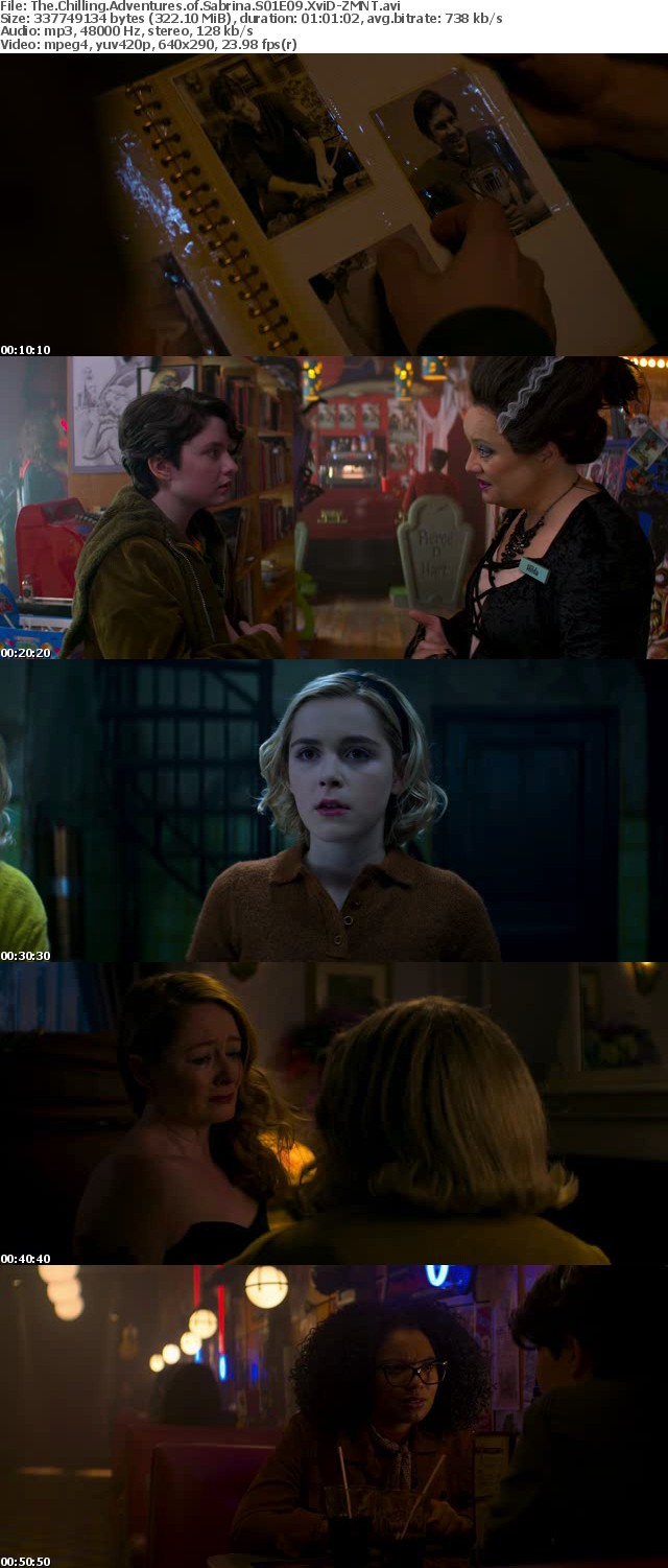 The Chilling Adventures of Sabrina S01 XviD-AFG