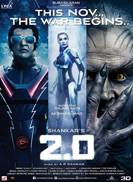 2.0 (2018) Hindi Pre CAMRip x264 700MB AAC-MovCr