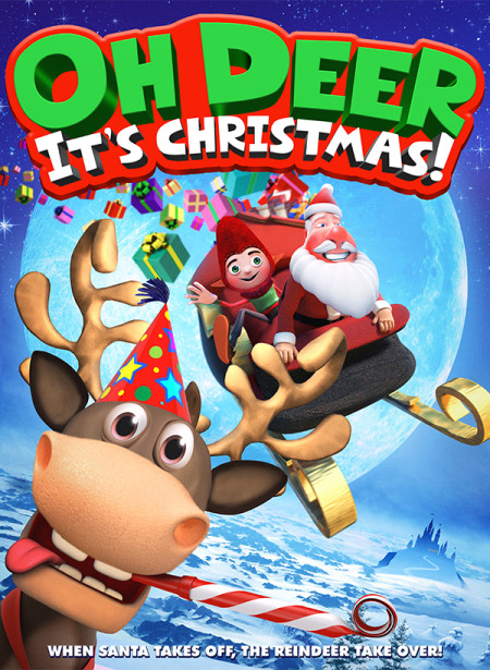 Oh Deer Its Christmas (2018) HDRip XviD AC3-EVO
