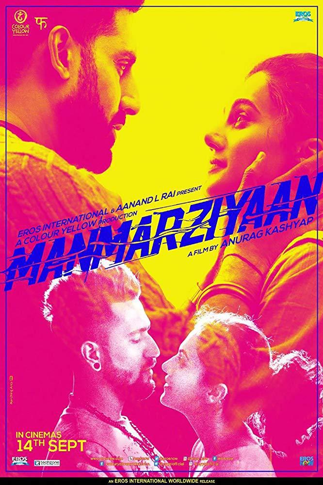 Manmarziyaan (2018) Hindi 1080p WEB-Rip x264 AAC 2 0 - ESUB ~ Ranvijay