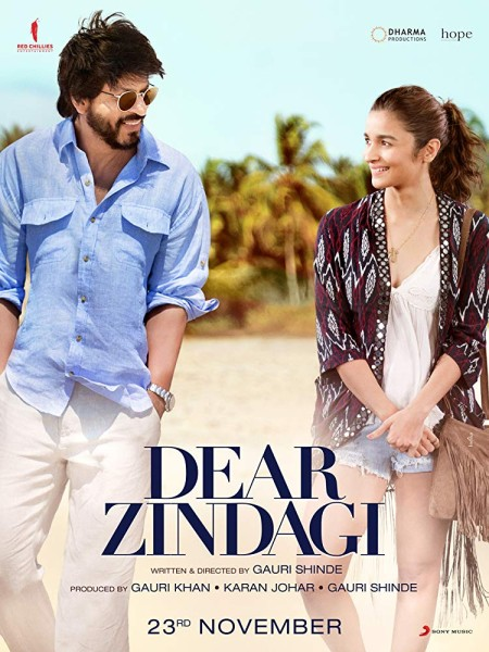 Dear Zindagi (2016) Hindi 720p BluRay x264 AC3 ESub-Sun George