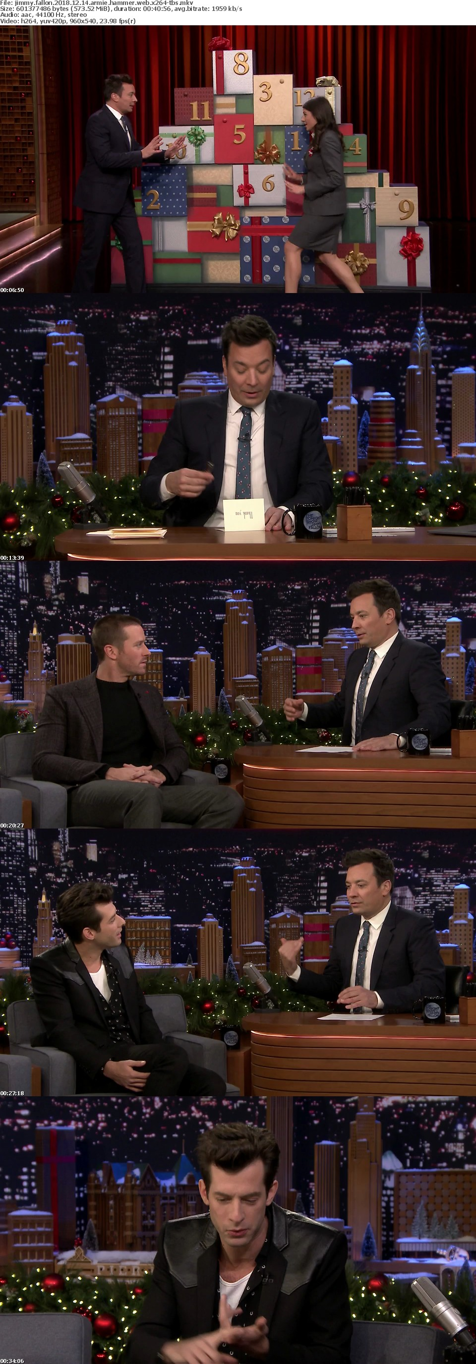 Jimmy Fallon 2018 12 14 Armie Hammer WEB x264-TBS