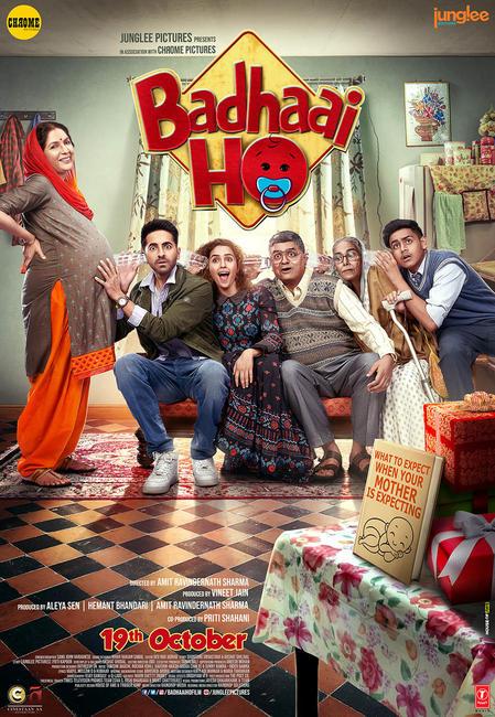 Badhaai Ho 2018 Hindi 720p WEB-DL x264 [MW]