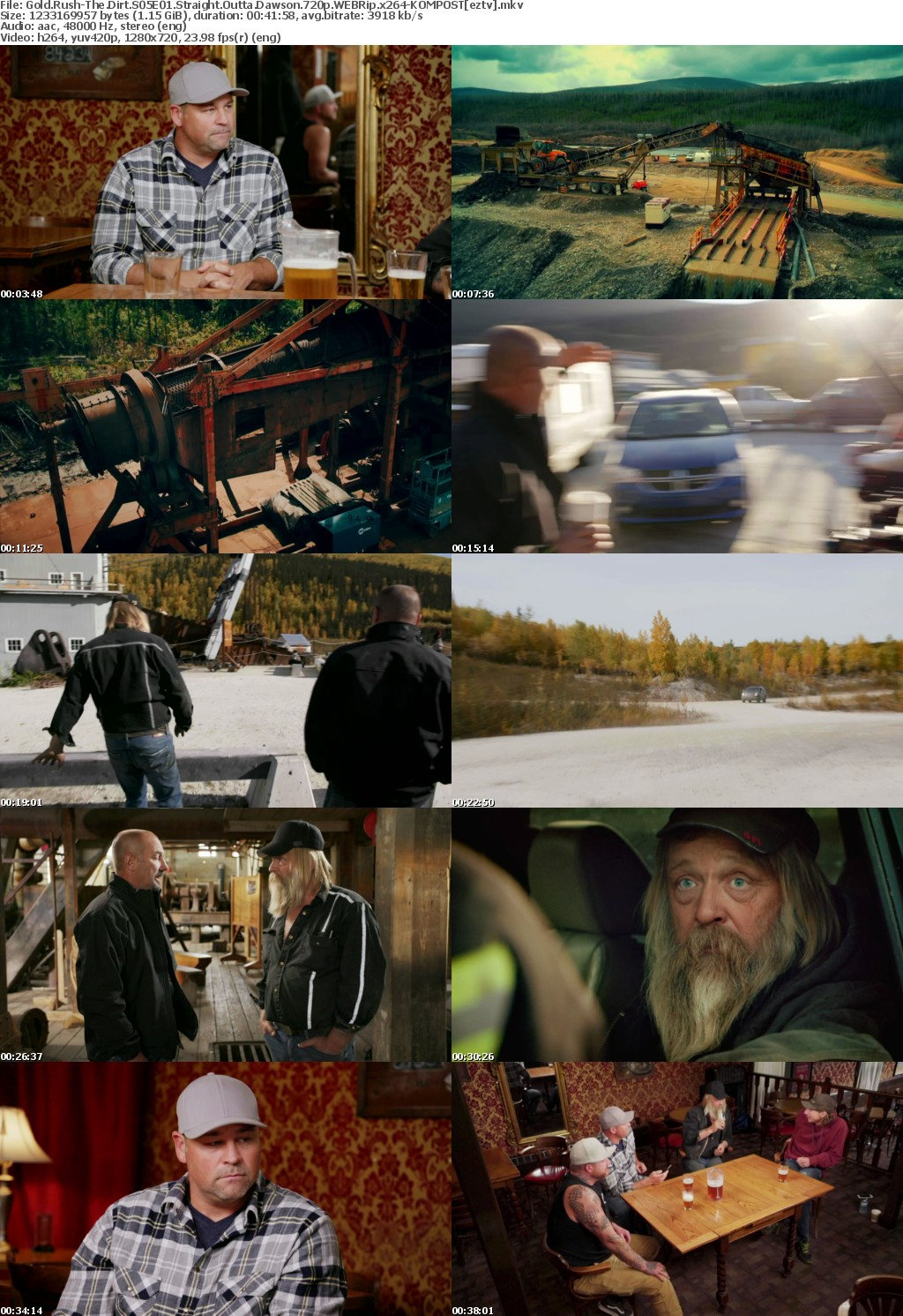 Gold Rush-The Dirt S05E01 Straight Outta Dawson 720p WEBRip x264-KOMPOST