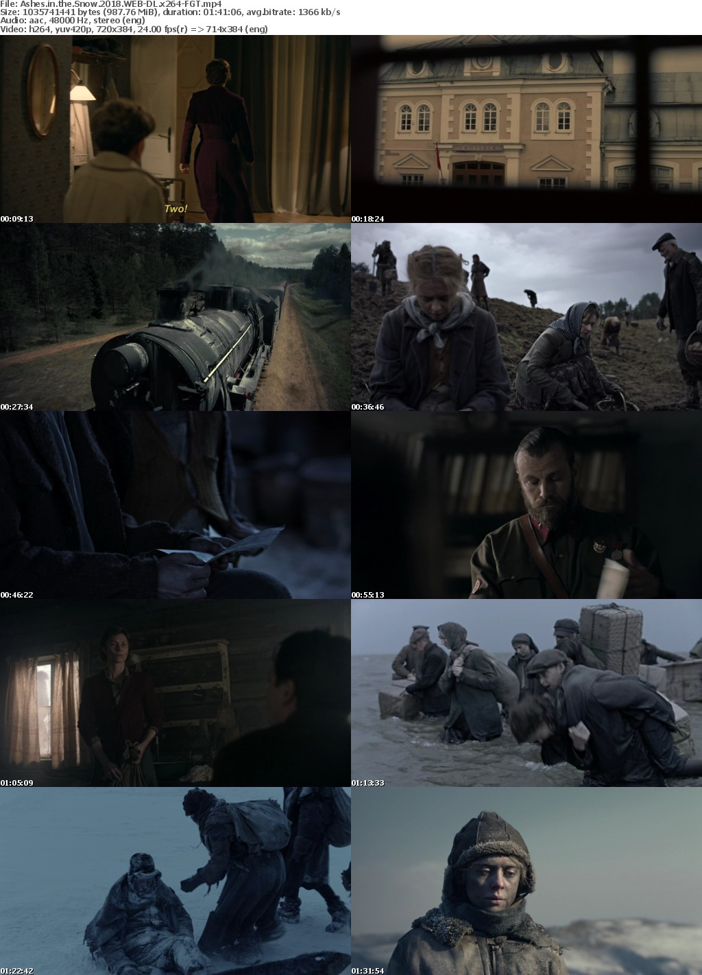 Ashes in the Snow (2018) WEB-DL x264-FGT