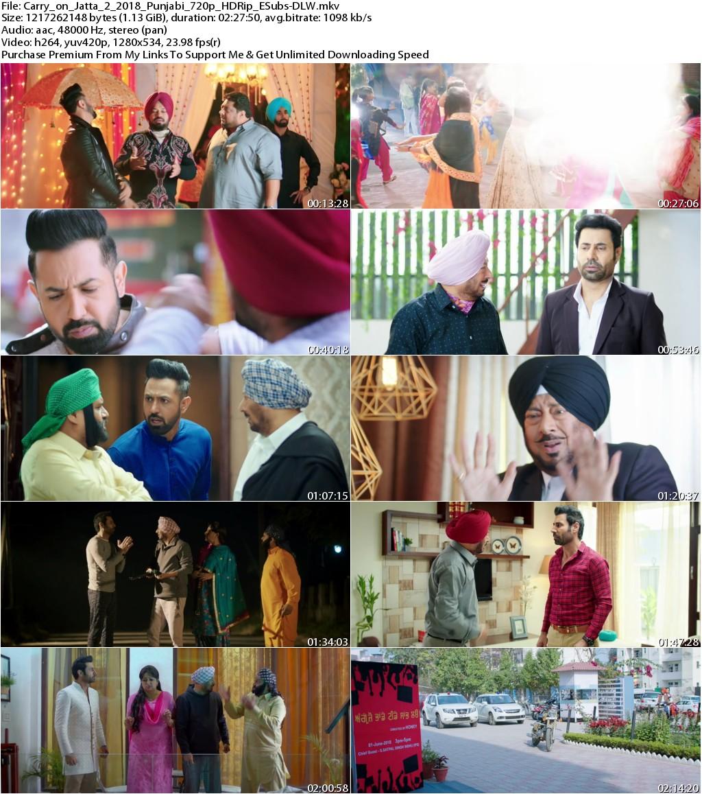 Carry On Jatta 2 (2018) Punjabi 720p HDRip ESubs-DLW