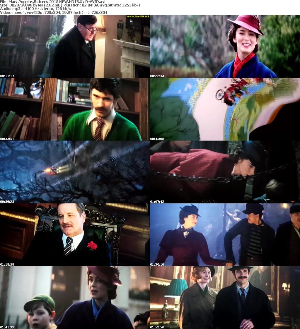 Mary Poppins Returns 2018 NEW HDTS XviD-AVID