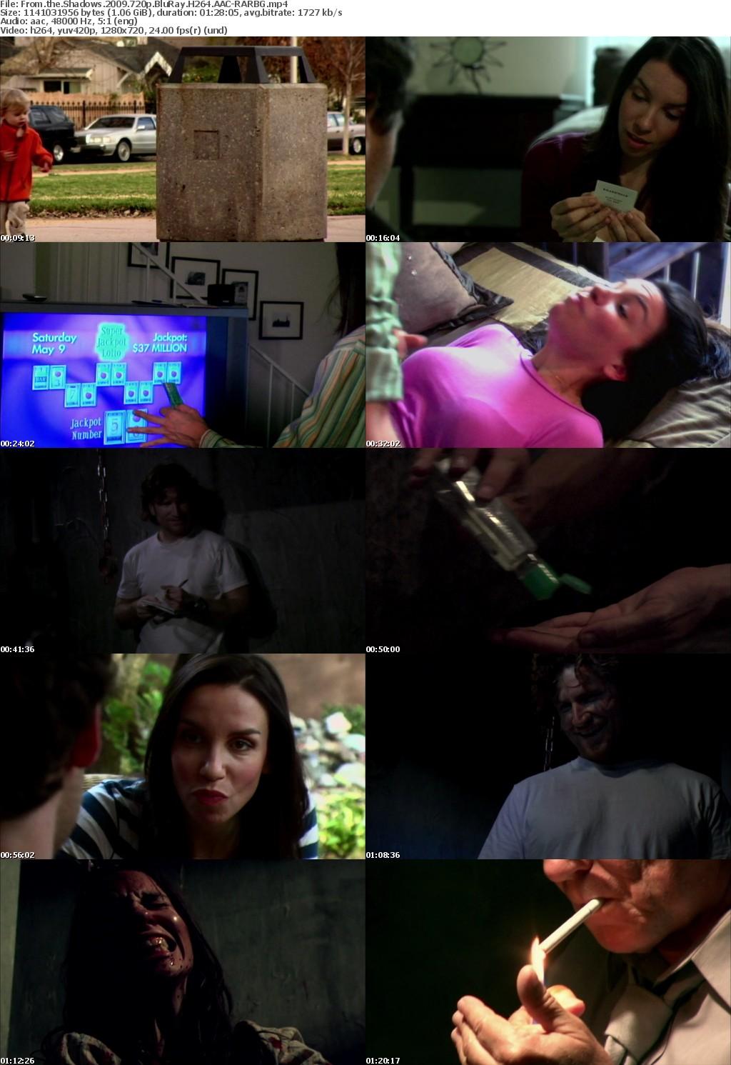 From the Shadows 2009 720p BluRay H264 AAC-RARBG