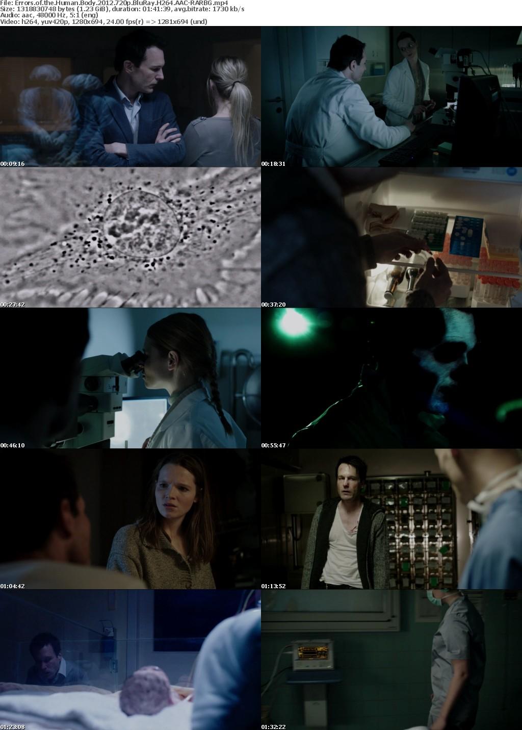 Errors of the Human Body (2012) 720p BluRay H264 AAC-RARBG