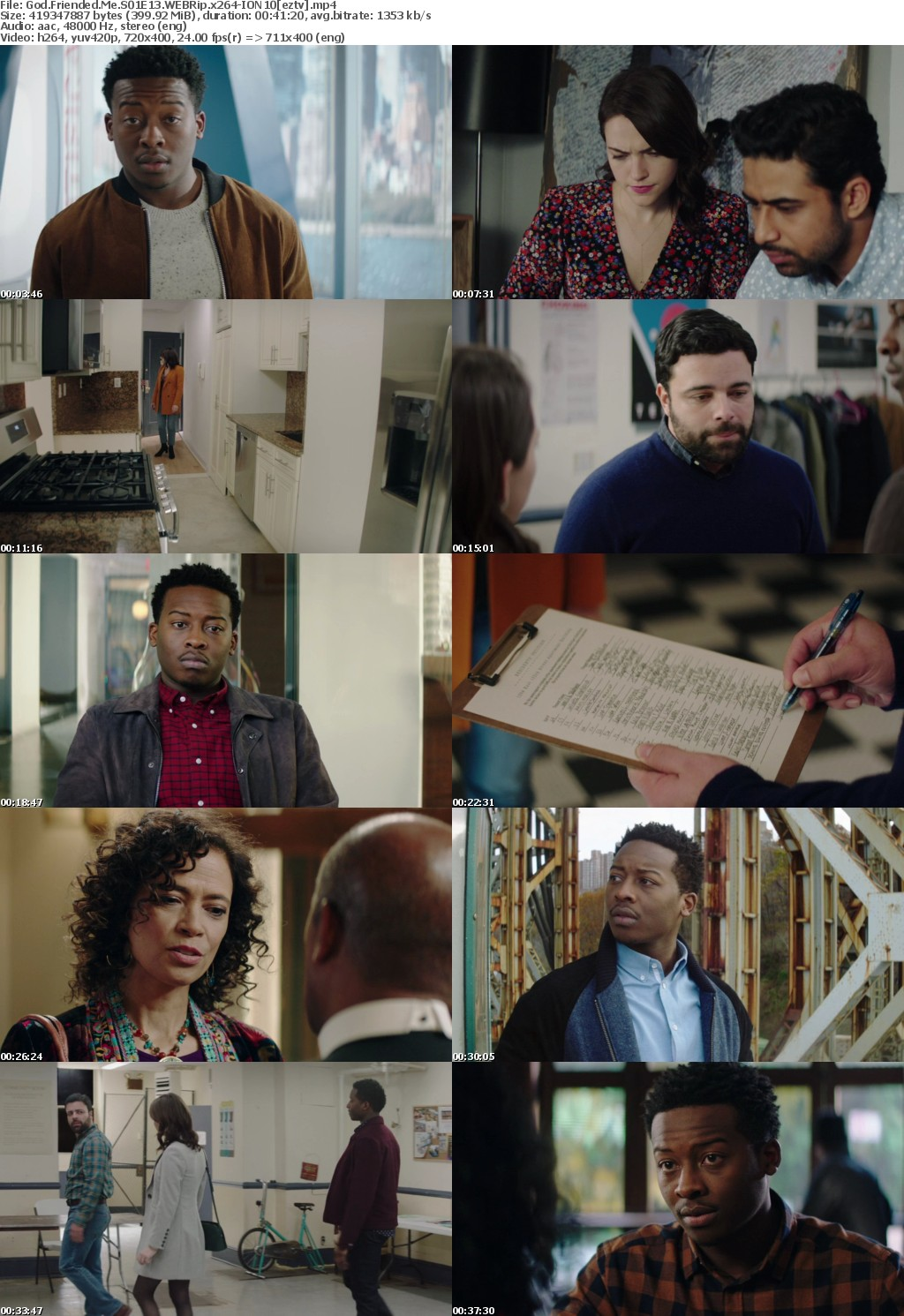 God Friended Me S01E13 WEBRip x264-ION10