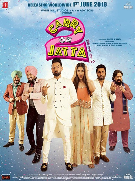 Carry On Jatta 2 (2018) Punjabi 720p WEB-DL x264 AC3 5 1 ESub-Sun George
