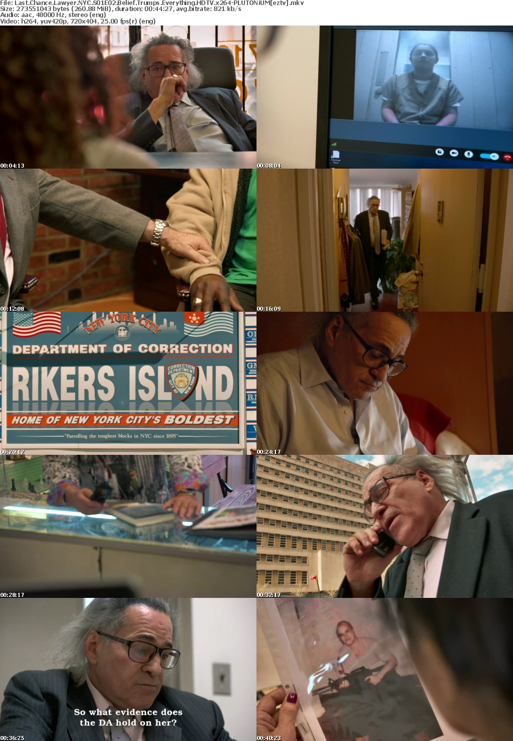 Last Chance Lawyer NYC S01E02 Belief Trumps Everything HDTV x264-PLUTONiUM