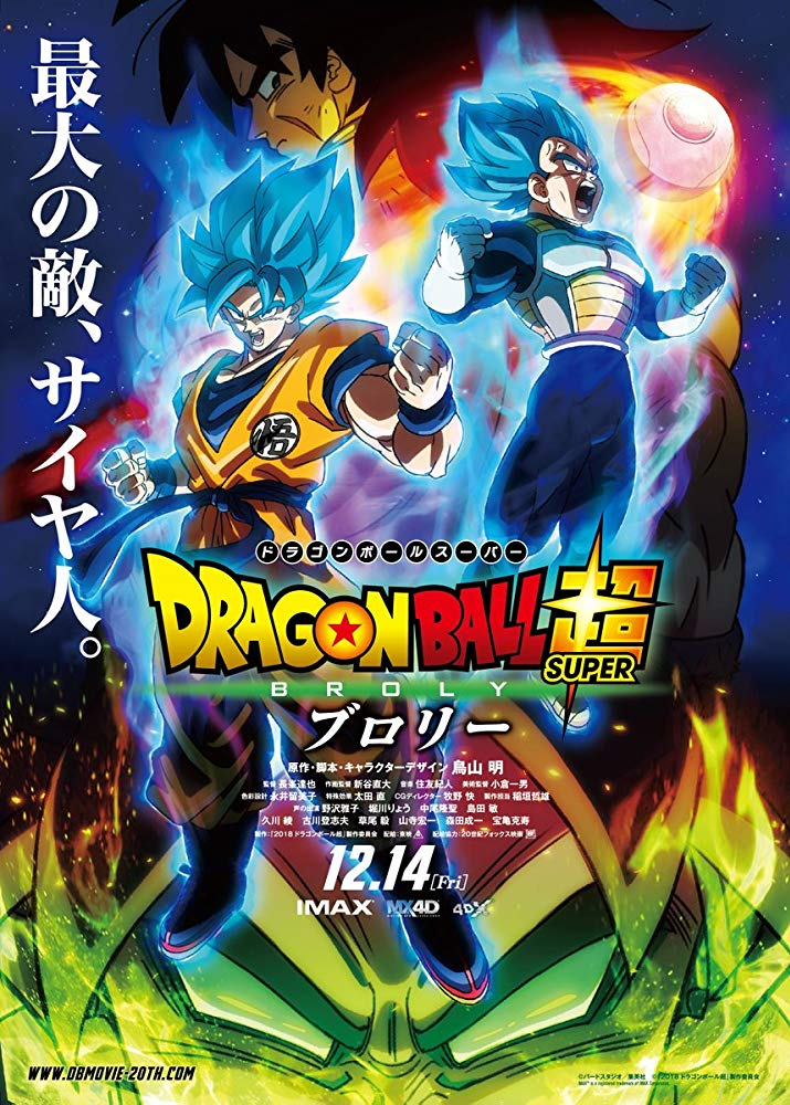 Dragon Ball Super Broly 2019 720p HDTC x264 [MW]